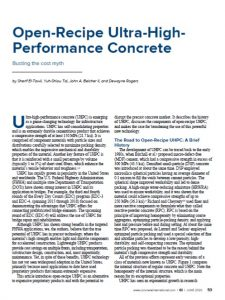 Open Recipe UPHC - Concrete International