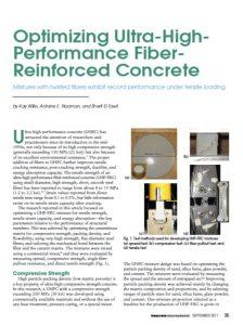 Optimizing UHPC - Concrete International